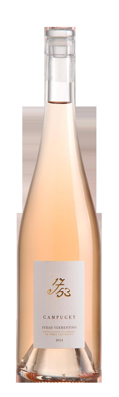 Campuget 1753 Rosé Syrah Vermentino